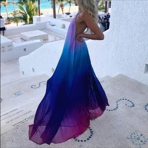 L'Atiste by Amy Ombré Maxi Dress - sz M